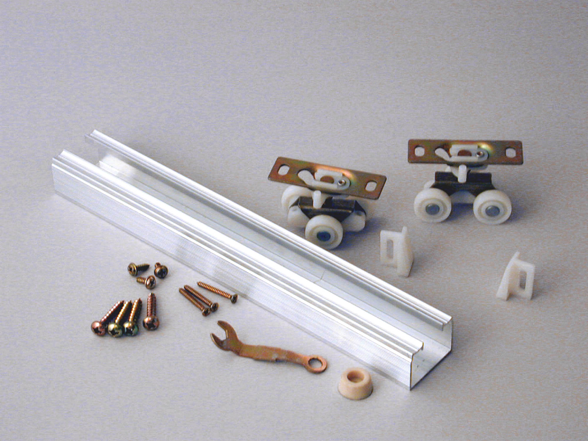 "Johnson Sliding Door Hardware Set 72"" at Sears.com"