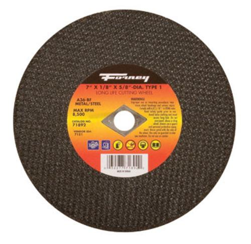 "Forney Industries Metal Cutting Wheel 7"" x 1/8"" x 5/8"" at Sears.com"