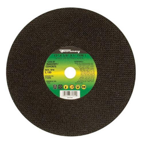 "Forney Industries Masonry Cutting Wheel 12""x1/8""x1"" at Sears.com"