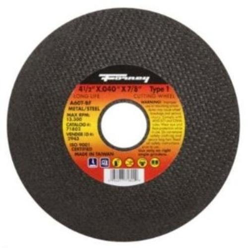 "Forney Industries ""Type 1"" Steel Cut Off Wheel 4-1/2""x.040""x7/8"" at Sears.com"