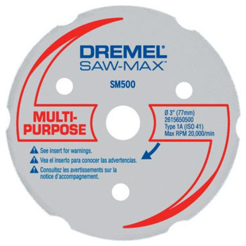 "Dremel SM500 Saw-Max Multi-Purpose Carbide Wheel, 3"" at Sears.com"