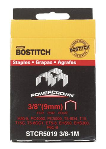 "Stanley Bostitch STCR50193/8-1M Crown Staples 3/8"", 1000/Pack at Sears.com"