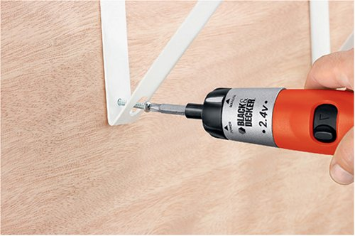 Black & Decker DP240 Cordless Direct-Plug Screwdriver, 2.4V at Sears.com