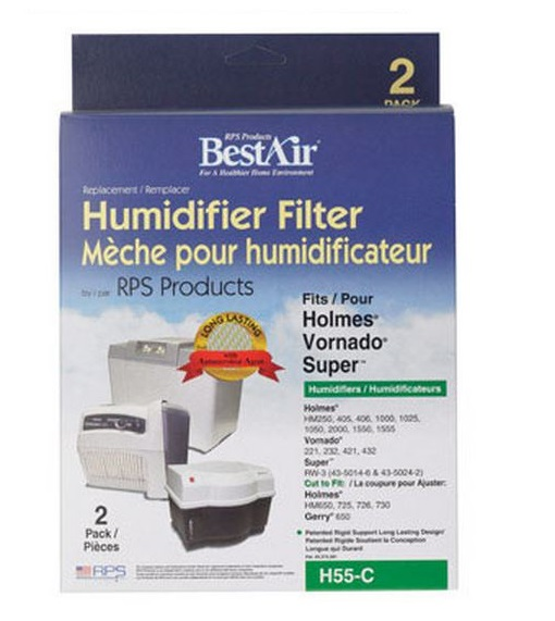Best Air H55-C Extended Life Humidifier Replacement Wick Filter, White at Sears.com