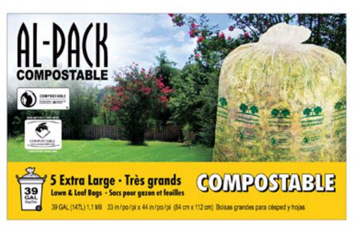 Packaging Service Compostable Lawn And Leaf Bag - 39 Gallon at Sears.com