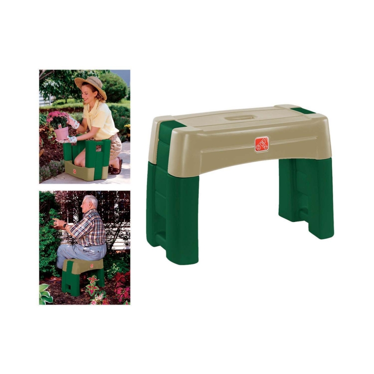"Step 2 534900 Gardener's Kneeler Seat, 16.25""H x 10.75""L x 21.75""W at Sears.com"