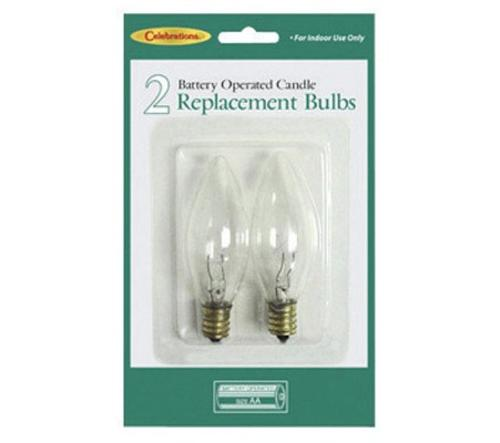 CELEBRATIONS T-16-71 Battery Operated Candle Replacement Bulb at Sears.com
