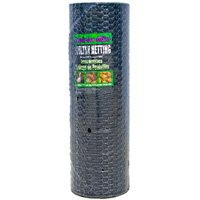 "Jackson Wire 12014629 Poultry Netting, Black Vinyl, 1"" x 48"" x 150' at Sears.com"