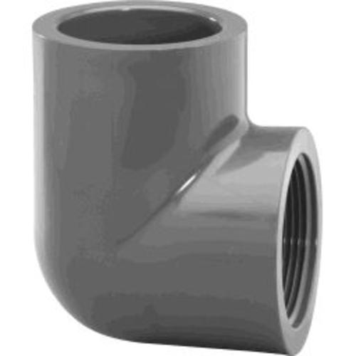 "Charlotte Pipe & Found Schedule 80 Pvc 90 Degree Elbow 2"" - Grey at Sears.com"