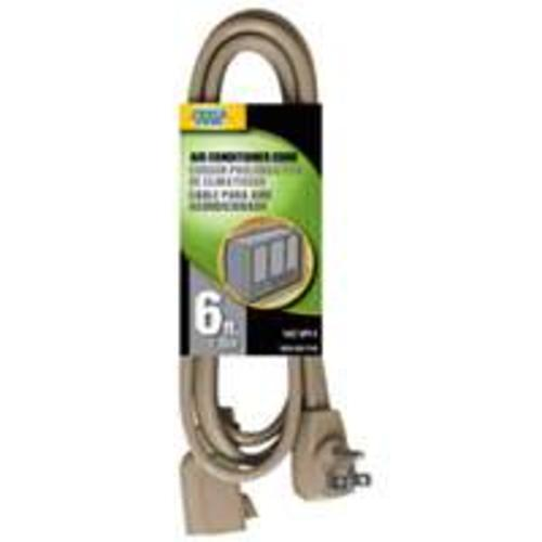 POWER ZONE OR681506 Major Appliance Extension Cords, Beige