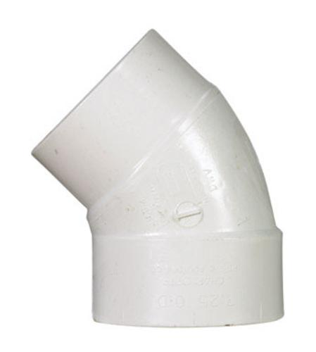 "Charlotte Pipe & Found Pvc/Dwv 45 Degree Street Elbow 3"" at Sears.com"