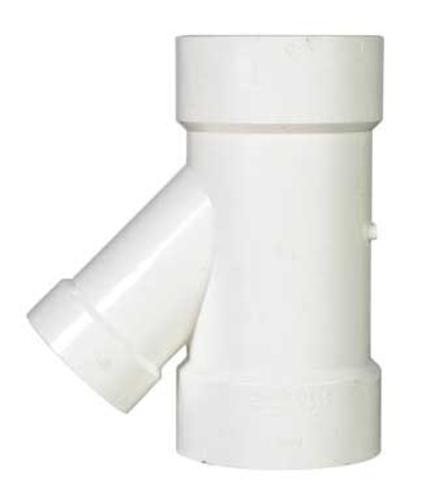 "Charlotte Pipe & Found Pvc/Dwv 45 Degree Wye 3"" X 3"" X 2"" at Sears.com"