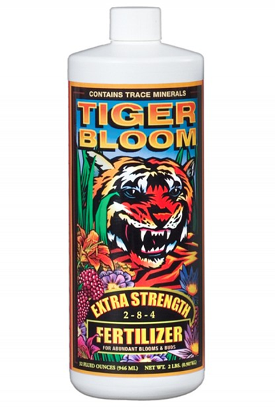 FoxFarm FX14019 Tiger Bloom Fertilizer, 1 Quart at Sears.com