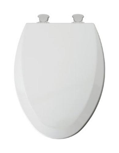 Mayfair 146ECDG-000 Elongated Toilet Seat With Easy Clean And Change Hinges