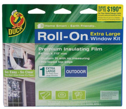 "ShurTech Brands ""Roll-On"" Exterior Patio Door Insulator Kit at Sears.com"