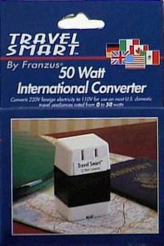 "Conair ""Travel Smart"" Converter 50W 220To110v at Sears.com"