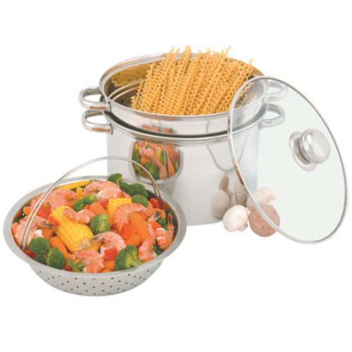 Heuck 36002 Stainless Steel Pasta/Steamer Pot, 8 Quarts at Sears.com