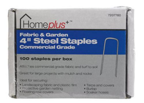 """Home Plus Fabric And Garden Staples, 4"""", Steel at Sears.com"""