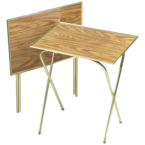 "quaker oats Quaker 00358 Tray Table Honey, Oak, 21"" x 15"" at Sears.com"