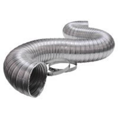 "Lambro 3120UL Ul Aluminum Flexible Duct With Clamp, 4"" x 8"" at Sears.com"