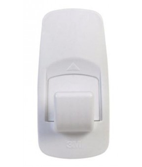Command 17004 Jumbo Adhesive Hook, White