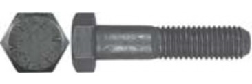 Imperial 16283 USS Hex Head Cap Screw, Grade 8, 3/4x10