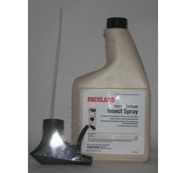 Rockland Indoor/Outdoor Insect Spray  Kills Bedbugs Bed Bugs Quart