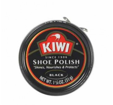 Kiwi 10111 Paste Polish, 1-1/8 Oz, Black