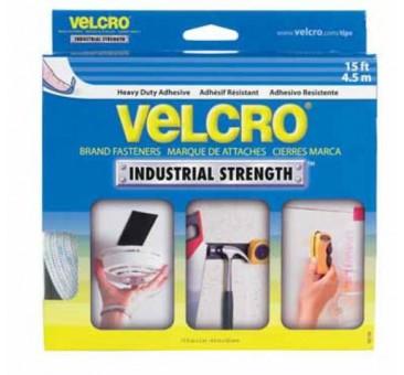 """Velcro 90198 Industrial Strength Hook / Loop Tape - 2"""" X 15' White"""