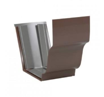 "Amerimax 2520919 Gutter Slip Joint Connector, 5"", Aluminum"