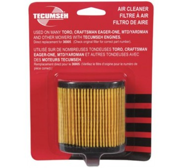 Tecumseh 740083A Replacement Air Filter 4-7Hp