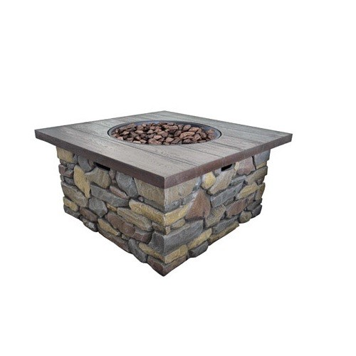 Bond 67810A Galiano LP Gas Fire Table, 30,000 BTU