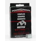 """Stanley Bostitch STCR50199/16-1M Crown Staples 9/16"""", 1000/Pack"""