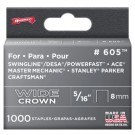 Arrow 60530 Heavy-Duty Staples, 5/16""