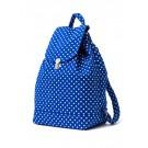 Baggu Backpack, Dotted, Blue