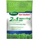 Scotts 18315 Turf Builder Sun And Shade 2-In-1 Reseeding Mix, 20 lbs