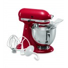 KitchenAid KSM150 Artisan Series Tilt-Head Stand Mixer, 5-Qt., Empire Red