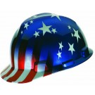 MSA Safety 10052945 USA Patriotic Hard Safety Hat