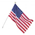 Valley Forge AA-US1-1 Economy Polycotton Flag Set, 3' x 5'