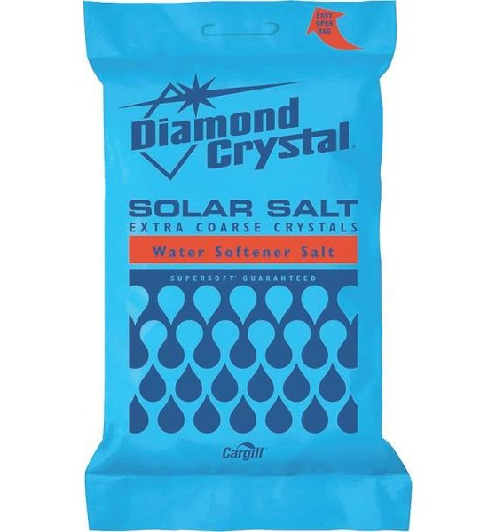 Diamond Crystal 804017 Solar Naturals Water Softener Salt, 50 Lbs at Sears.com