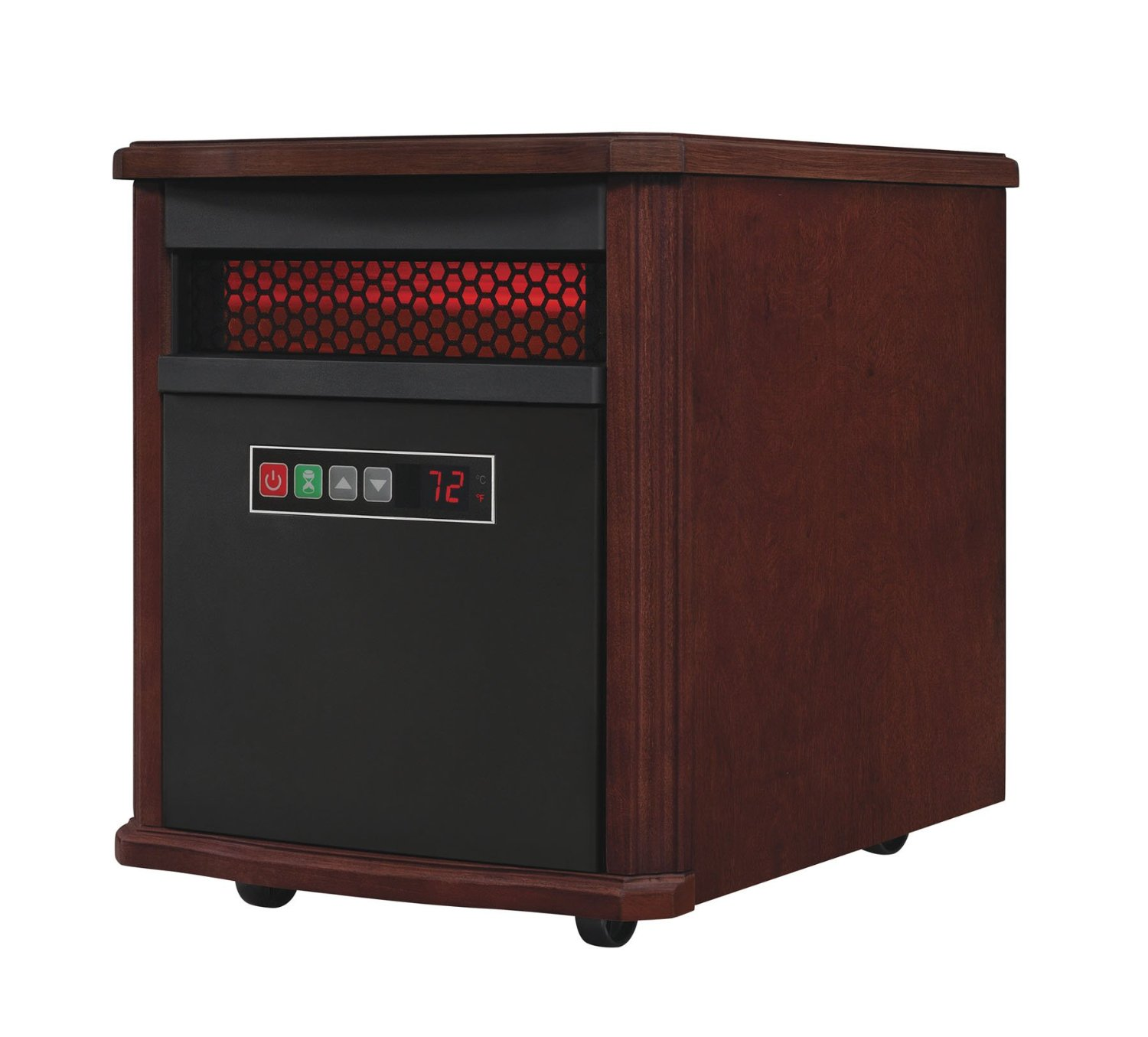 Duraflame 9HM7253-C299 Dark Cherry Infrared Quartz Heater, 5200 BTU at Sears.com