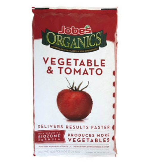 Jobes 09023 Organic Granular Vegetable & Tomato Fertilizer, 16 Lbs. at Sears.com