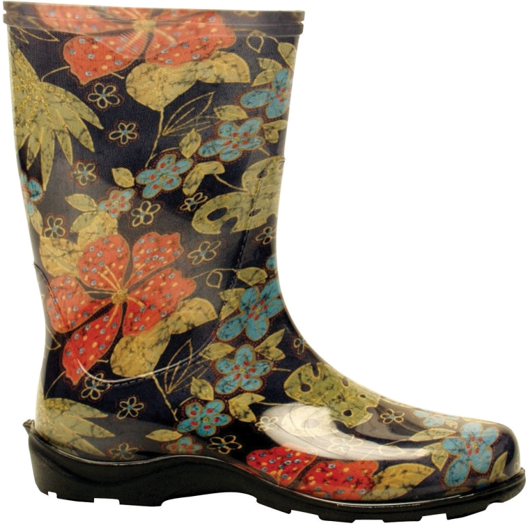 Sloggers 5002BK10 Women's Rain And Garden Boots, Size 10 at Sears.com