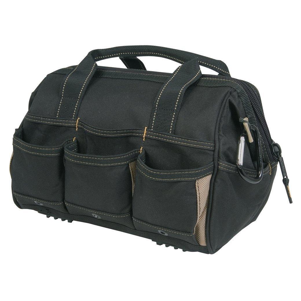 CLC CLC 1534 Tool Bag With Top-Side Plastics Parts Tray, 23 Pockets