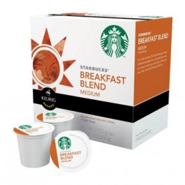 Starbucks 110768 Breakfast Blend Coffee K-Cups, 16 Count